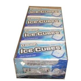 Ice cube gum