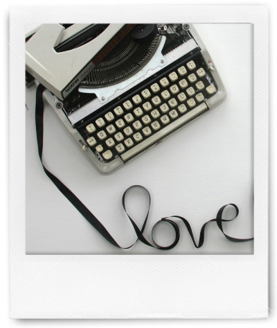 Typewriter love